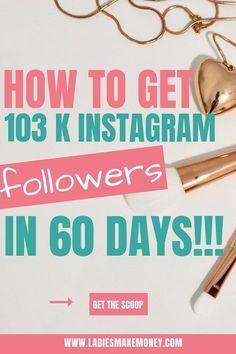 Ladies Make Money Online Instagram Marketing Tips, Instagram Tips, Making Money On Instagram, Instagram Money, Free Instagram, Instagram Story, Make Money Blogging, How To Make Money, Earn Money