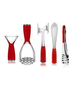 Another great find on #zulily! Art & Cook Red Essential Tools Set by Art & Cook #zulilyfinds