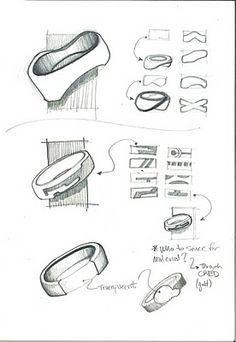 LQ Art + Design: Jewelry Sketches 1