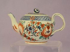Antique English Pearlware Pottery Tea Pot C1800 | eBay