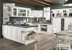 Opera classic kitchens at Bond& Colombini Casa. All Opera classic kitchens are designed according to one& tastes, requirements and room dimensions. Greek Decor, Room Dimensions, Love Home, Country Chic, Cool Kitchens, Metroid, Kitchen Remodel, Shabby Chic, Sweet Home