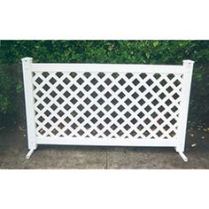 Signature Fencing And Flooring Portable Patio Fencing....72WX42H...119