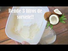 #MasterChel - O melhor sorvete de coco caseiro do mundo (receita simples)   Rachel Gonçalves - YouTube