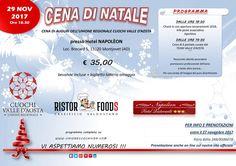 Cena Sociale 2017 – Tutte le info e programma completo | Unione Cuochi Valle d'Aosta