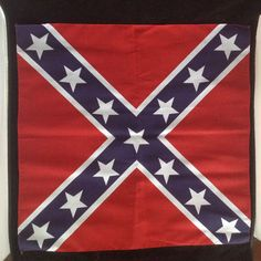 "New Confederate Rebel Flag Bandanas 22""x22"" Dixie Mason-Dixon #ConfederateFlag"