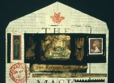 envelopes from the past   Clive Hicks-Jenkins' Artlog: