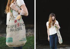 DIY: market bag  Visit & Like our Facebook page! https://www.facebook.com/pages/Rustic-Farmhouse-Decor/636679889706127