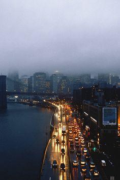 Rainy New York City / photo by BloodShedTears