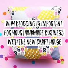 Continuing with our Makers Month and another Q&A for you from the lovely @newcrafthouse about why blogging is important for handmade businesses! They are currently tie-dyeing up a storm at bestival so show them the love #makersmonth #livelovemake