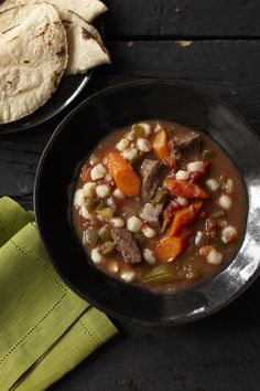Beef and Hominy Stew #FamilyCircleHealthyFamilyDinners #stew #slowcooker