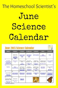 June 2015 Science Calendar