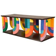 Coffee Table In Pop-Art Form