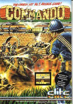 Commando by Elite - Magazine Ad