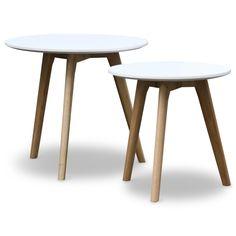 Makkii Bijzet (set v2)-Wit Mat - Moderne tafels - Tafels | Zen Lifestyle