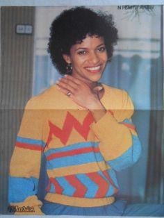Debbie Allen poster  -- from the 80s