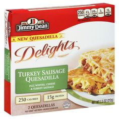 Jimmy Dean Quesadillas, Turkey Sausage