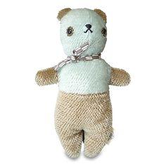Teddy Bär - hellblau/beige / copaincopine