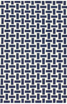 Rugs USA Savanna Basketweave Flatwoven Navy Blue Rug 2'6' x 8 runner is 48 when they are having a sale