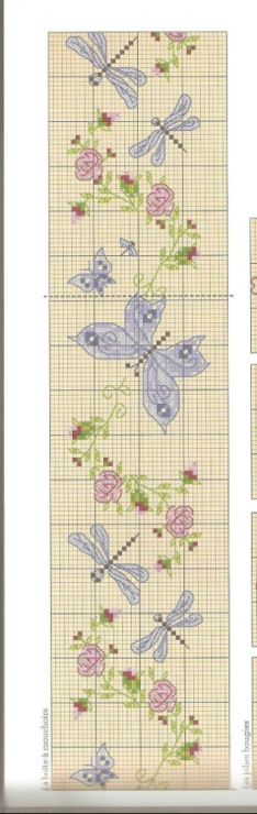 Mariposas punto Cruz. Cross stitch