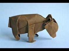 Origami bear by John Szinger - YouTube