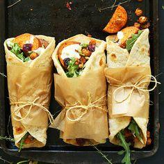 Vegan Thanksgiving Wraps Recipe on Yummly