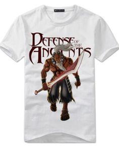DOTA 2 hero Juggernaut mens t shirt XXXL short sleeve Dota 2 T Shirt, Dota2 Heroes, Fashion News, Shorts, Mens Tops, Sleeve, Brazil, White People, Supreme T Shirt
