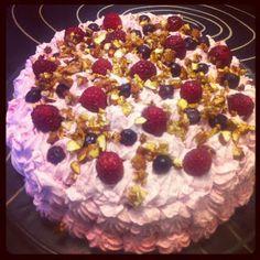 God mad og søde sager: Fødselsdags-Lagkage de lux