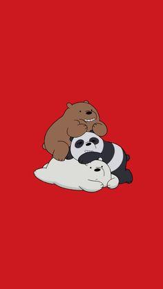 Abstract Iphone Wallpaper, Funny Iphone Wallpaper, Cute Wallpaper Backgrounds, Galaxy Wallpaper, We Bare Bears Wallpapers, Panda Wallpapers, Cute Cartoon Wallpapers, Cute Panda Wallpaper, Bear Wallpaper
