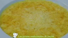 Receta fácil y rápida de Sopa de huevo hilado