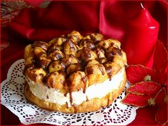 Bucataresele Vesele-retete culinare,retete ilustrate: Tort Ecler Romanian Desserts, Romanian Food, Romanian Recipes, Scottish Recipes, Turkish Recipes, Fun Desserts, Delicious Desserts, Good Food, Yummy Food