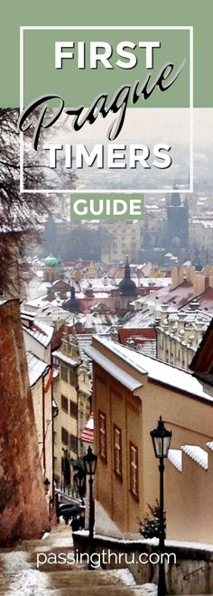 Prague First Timers Guide: insider info from experienced travelers helps you discover and plan what to do and what not to miss on a first visit to Prague!