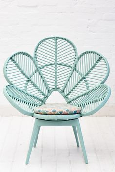 Aqua-rattan-love-chair This chair will be the inspiration for Mia's room!