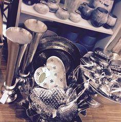#hearts #silver #decoration #interior #pier3wohnideen
