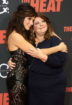 Sandra Bullock And Melissa McCarthy Are Totally Adorable BFFs--I would loooooove to meet these two together!