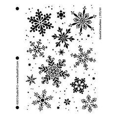 Christmas Border, Christmas Frames, Christmas Fun, Xmas, Christmas Cross, Snowflake Stencil, Mandala Stencils, Snowflake Craft, Crochet Snowflake Pattern