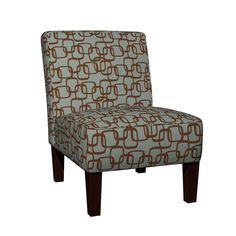 Maran Slipper Chair featuring ModSquaresBrnOnSea by ghennah | Roostery Home Decor