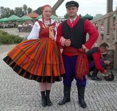 Strój sannicki Folk Costume, Costumes, Polish Folk Art, Folk Clothing, Ancient Art, Poland, Culture, Traditional, Warsaw