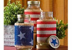 American Flag Jars | Indie Crafts | CraftGossip.com