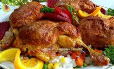 Egy finom Töltött csirkecomb sütőzacskóban sütve ebédre vagy vacsorára? Töltött csirkecomb sütőzacskóban sütve Receptek a Mindmegette.hu Recept gyűjteményében! Meat Recipes, Cake Recipes, Bacon, Food And Drink, Turkey, Lunch, Dishes, Chicken, Diet