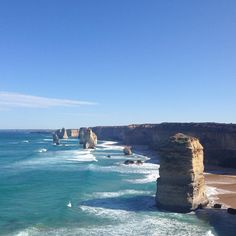 || day t e n|| The Twelve Apostles  the Great Ocean Road is aaaaamazing & Port Campbell has great coffee! #bandbroadtripvacation #portcampbell #coffee #thetwelveapostles #holidays by brookedillon http://ift.tt/1M50tZd
