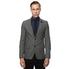 Zonettie by Ferrecci Mens Super Slim Fit Blazer, Men's