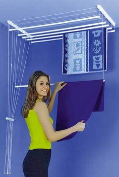 Clothesline Shop - Airaus Ceiling Mounted Clothes Airer, $104.00 (http://www.clotheslineshop.com.au/airaus-ceiling-mounted-clothes-airer/)                                                                                                                                                                                 More