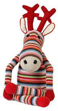 Stripey Crochet Reindeer by Anne-Claire Petit 49.99 £ - Anne Claire Petit