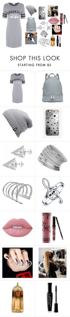 """""""in your DREAM baby"""" by rosela-1 ❤ liked on Polyvore featuring MICHAEL Michael Kors, The North Face, Rianna Phillips, adidas, Edge of Ember, Miss Selfridge, Bling Jewelry, Lime Crime, Kylie Cosmetics and Thierry Mugler"""