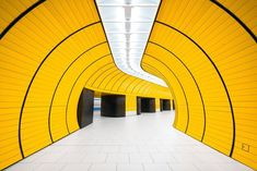 Chris M Forsyth took this dazzling shot at Marienplatz in Munich, as part of his Metro project. Underground transit systems are often as much a function of design as they are of utility. The project is a personal exploration of the art and architecture of metro stations around the world