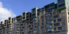 This project was commissioned to provide custom colour panels for the expansion of the Greenwich Millennium village. We provided the building firm Willmott Dixon with 20 custom RAL colours using our colour match service. The results are the stunning balconies that line the top of the new building and the corner apartments.