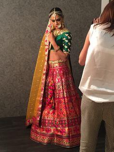#InTheMaking #Womenswear #GhagraCholi #BehindTheScenes