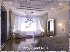 Спальня в стиле модерн - Фото 31