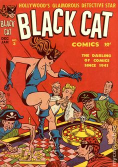 The Black Cat is a fictional character, an antiheroine who appears in comic books published by Marvel Comics. Description from imgarcade.com. I searched for this on bing.com/images