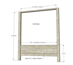 Farmhouse Canopy Bed Frame (All Sizes) - enter.